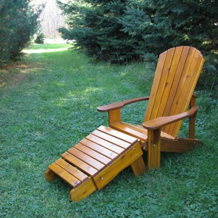 comfortable Muskoka chairs